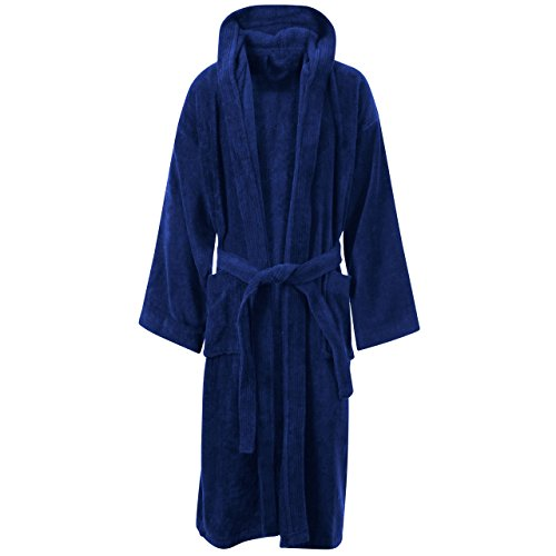 LUXURY EGYPTIAN COTTON TOWELLING BATH ROBE DRESSING GOWN TERRY TOWEL BATHROBES HOUSE COAT (Egyptian Girl Sexy)