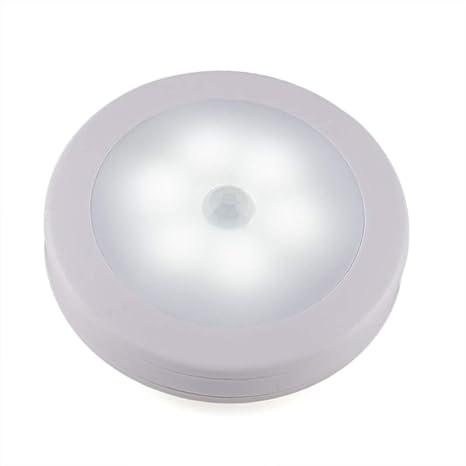 5 Pack LED Sensor de movimiento Night Light, PIR Sensor de movimiento LED Cabinet Lights