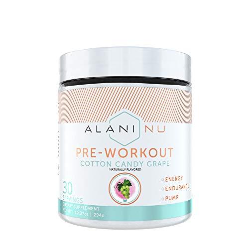 Alani Nu Pre-Workout - Cotton Candy Grape