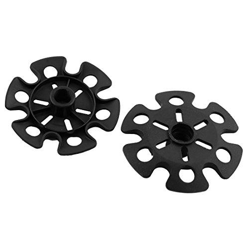 eDealMax plastica Outdoor Trekking rimovibile Bastoni Trekking Snowflake Basket 3.3 pollici del diametro 12pcs by eDealMax (Image #1)