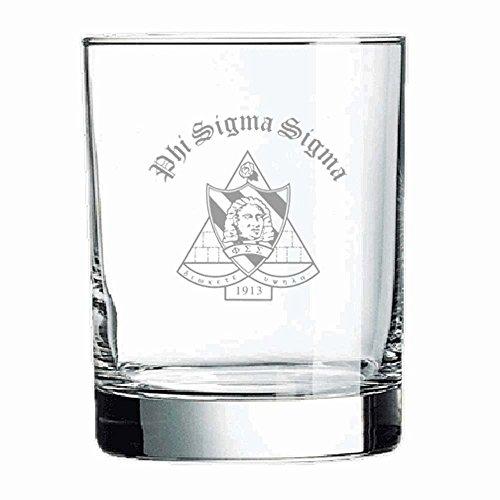 (Greekgear Phi Sigma Kappa Old Style Glass Transparent)