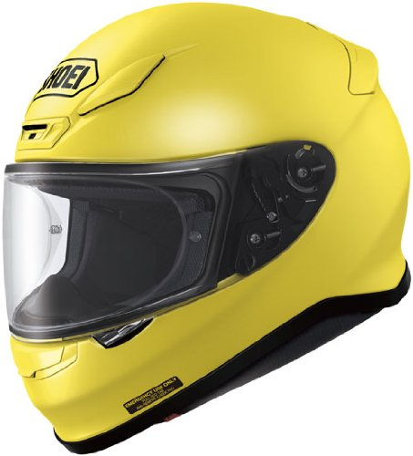 Shoei RF-1200 Brilliant Yellow Full Face Helmet - Large