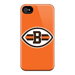 New Style GG Fan Hard Case Cover For Iphone 4/4s- Cleveland Browns 8
