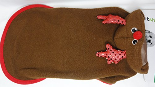 Santa Costume Walgreens (Pet Shoppe Reindeer Dog Costume (Small))