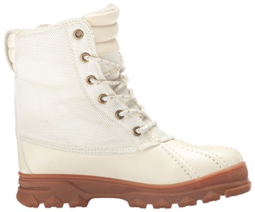 Polo Ralph Lauren Kids Girls' 993515 Lace-up Boot, Cream/Cream, 7 M US Big Kid