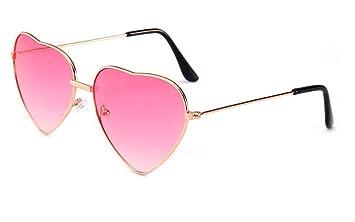 WSKPE Gafas De Sol Gafas De Sol Mujer Rosa En Forma De ...