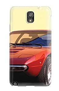 Protection Case For Galaxy Note 3 / Case Cover For Galaxy(cars Games)