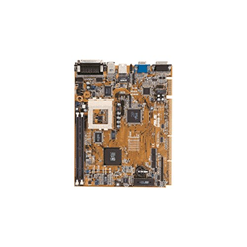 Asus SP98N Motherboard NLX form factor. SiS 5598 chipset. 512K cache. 2DIMM sockets. On-board video. 2PCI, 1ISA slots. Motherboard only. No manuals, cables or drivers. -