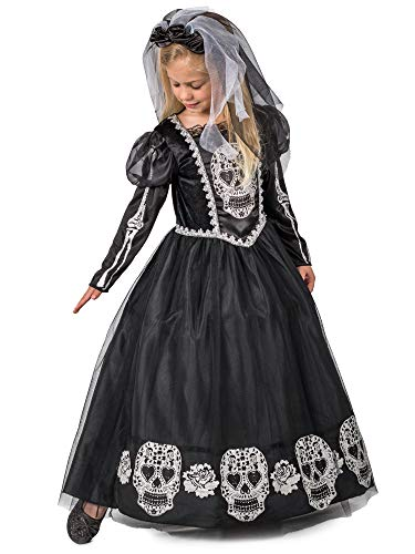 Dead Bride Costumes For Kids (Princess Paradise Bride of The Dead Costume,)