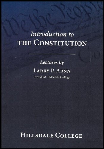 Introduction to The Constution (An Online Lecture Series) [3 DVDs]