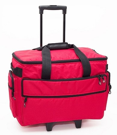 BlueFig TB19 Sewing Machine Trolley (Red)