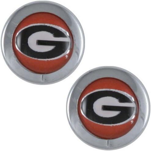 WinCraft Georgia University of S75361 Domed Screw Caps