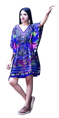 kaftan dress mini - 4