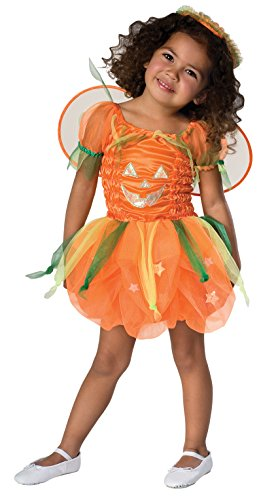 Toddler Orange Pumpkin Pie Costume]()