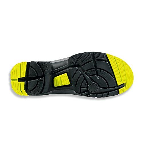 Uvex chaussures sicherheitshalbschuh/8514 s1P one-noir/vert-largeur : 11-tailles verschied. - Noir - Schwarz/Lime, Taille 43 EU