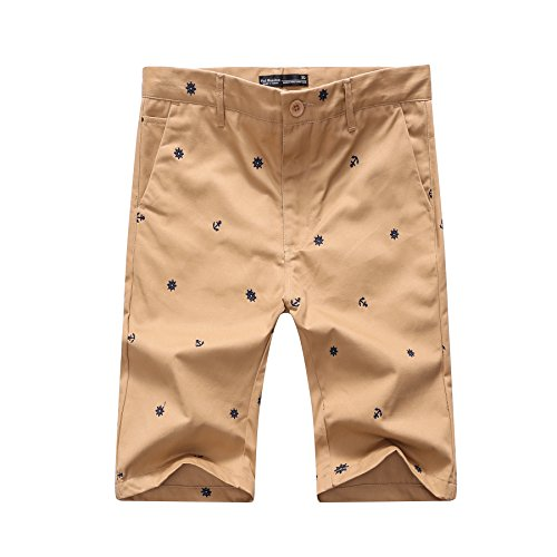 Long Khaki - Pau1Hami1ton PH-26 Men Khaki Shorts (40 Khaki)