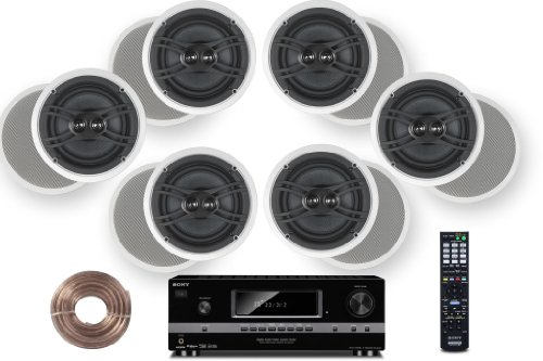 Cinematic Receiver Yamaha Ceiling Tweeters