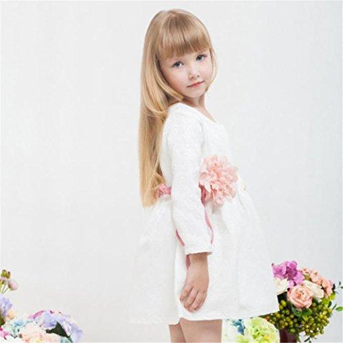 TIFENNY Fashion Kids Girl Sleeveless Print Princess Party Dress (2T)