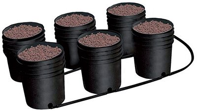 C.A.P. (Custom Automated Products) CAEBBEXP6 Ebb & Gro Expansion Kit of 6 Pots, Tubing & Fittings