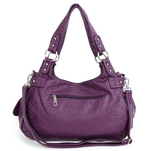Femme à Pour Main Femme Purple à WDBAO Sac Sac Main Pour PRqwxyUCSH
