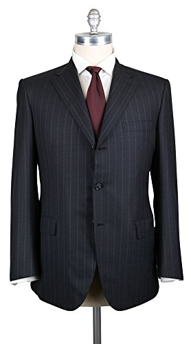 Brioni Wool Suit (New Brioni Dark Gray Suit 44/54)