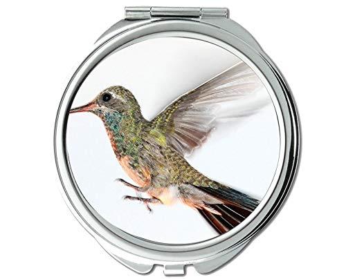 Mirror,Small Mirror,Wings Beak Bird Pocket Mirror,1 X 2X -