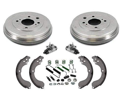 - 100% New Brake Drums Shoes Wheel Cylinders Hardware Kit for Nissan 07-12 Sentra