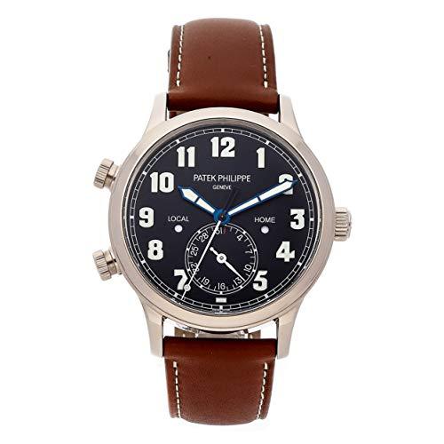 Patek Philippe Calatrava Mechanical (Automatic) Black Dial Mens Watch 5524G-001 (Certified - Calatrava Mechanical Philippe Watch Patek