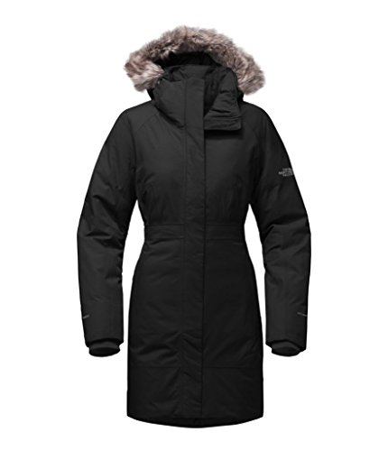 The North Face Women's Arctic Parka II - TNF Black - S (Womens Black Face)