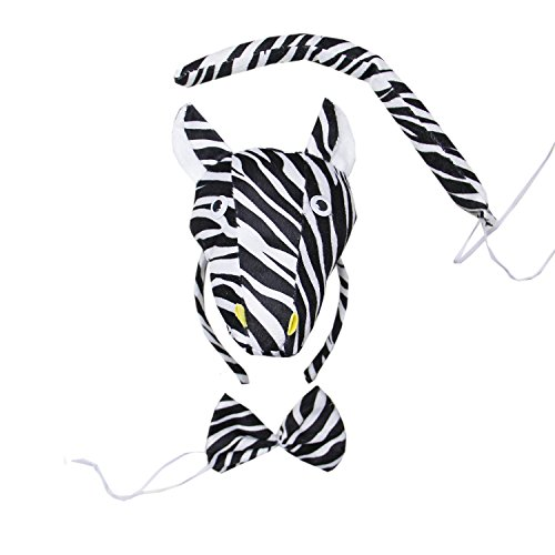 Kirei Sui Zebra 3D Headband Costume Set -