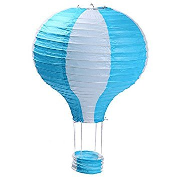 "TOOGOO(R) TOOGOO(R) 16"" 40cm Rainbow Hot Air Balloon Paper Lantern Kids Birthday Party Wedding Decoration style2 price tips cheap"