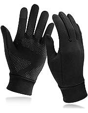 Unigear touchscreen handschoenen, sport warme winddichte winterhandschoenen antislip voor heren dames, idee voor hardlopen, fietsen, klimmen, skiën