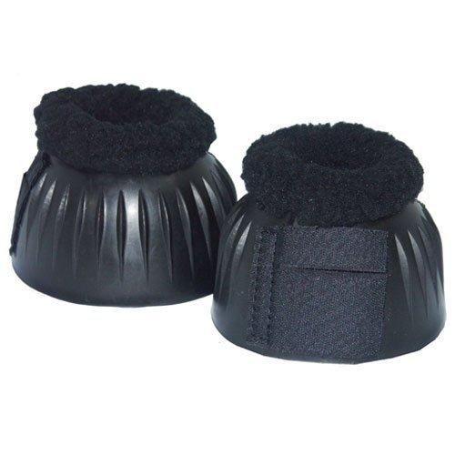 Intrepid International Fleece Top Bell Boots, Black, - International Intrepid Fleece