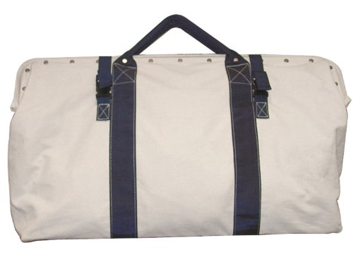 Bon 41-153 20-Inch by 5-1/2-Inch Heavy Duty Canvas Tool Bag with Nylon Straps - Bon Tool Tool Bags