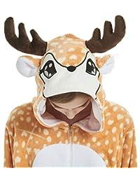 LONGTEN Fleece Onesie Pajamas for Women Men Adult Cartoon Animal Unicorn Christmas Halloween Cosplay Onepiece Costume