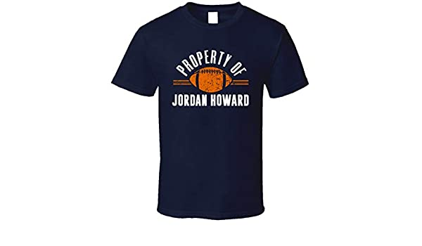 new products 39be5 26dc7 Property of Jordan Howard Chicago Football T Shirt | Amazon.com