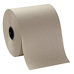 Georgia-Pacific SofPull 26920 for Auto Brown 100 Percent Recycled Fiber Roll Paper Towel (WxL) 7.0\