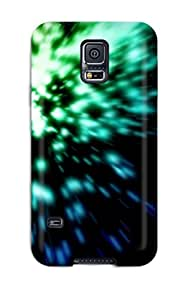 Hot Tpu Cover Case For Galaxy/ S5 Case Cover Skin - Abstract