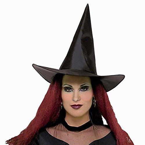 Rubie's Costume Co Black Taffeta Wit Child Hat Costume (Black Witch Costume)