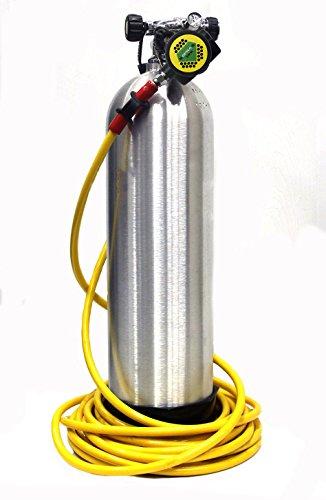 Kayak Diver Regulator Kit 50 Foot Hose Hukah hookahs long hose clean boat bottom dive ()