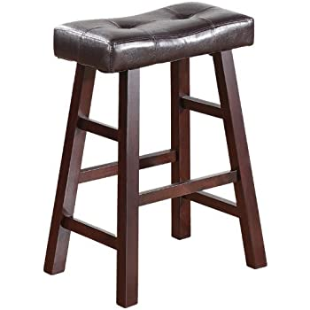 Amazon Com Premium Bar Stools 24 Inches For Counter Set