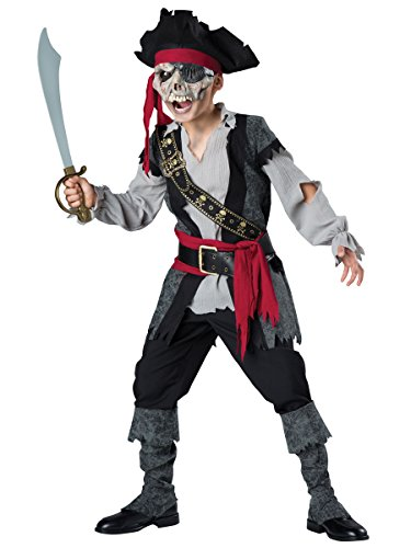 InCharacter Costumes Zombie Pirate Costume, One Color, Size (Walk The Plank Pirate Costume)