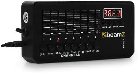 Beamz DMX-512 Mini Controlador DMX Batería Recargable ...