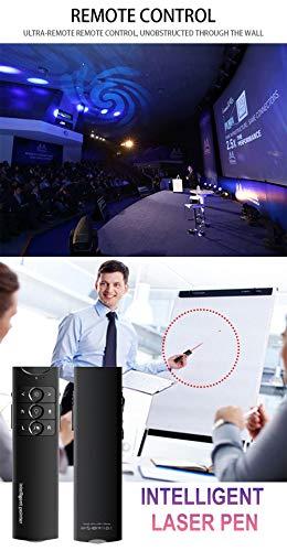 XMDFY 2019 Upgrade Portable Smart Multi-Language Synchronization Translator,Multifunction Wireless Presenter,PPT Controller Presentation Remote Control Pointer USB Mouse Clicker Flip Pen,Two by XMDFY (Image #3)