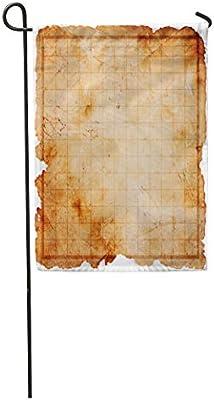Amazon com : Semtomn Garden Flag Game Blank Pirate Treasure