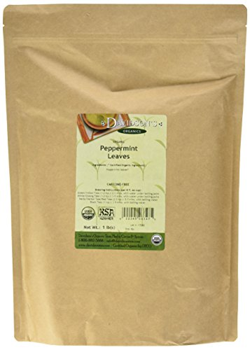 (Davidson's Tea Bulk, Organic Peppermint Leaves, 16-Ounce Bag)