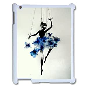 Best Quality [LILYALEX PHONE CASE] Elegent Dancer For Ipad 2/3/4 Case CASE-4