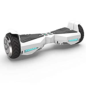 "Hoverboard 6.5"" UL 2272 Listed Self Balancing Wheel Electric Scooter (White)"