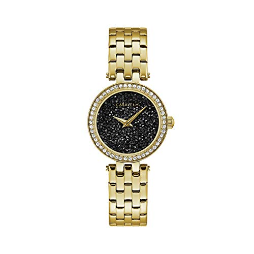 Caravelle Black Dial - Caravelle by Bulova Dress Watch (Model: 44L243)