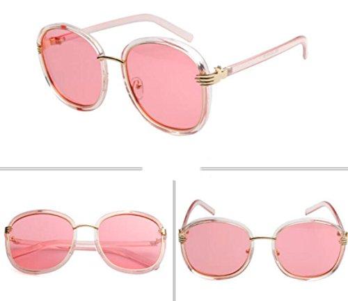 De Moda A Lady Redondo De Shopping De Gafas Marco Gafas Sol De Travel Sol Beach 6wnxqvO1xg